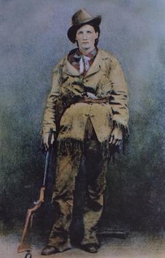 Martha Jane Cannary, surnommée Calamity Jane, en 1895