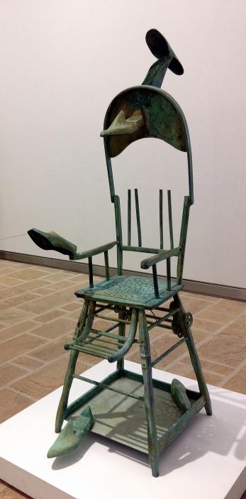 A chair ...