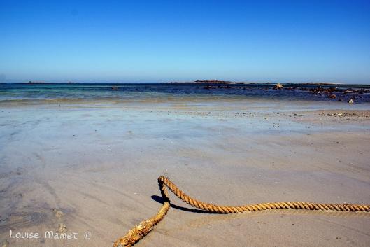 La mer est attachante...