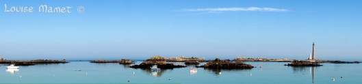 Panorama du Phare de l'ile Vierge