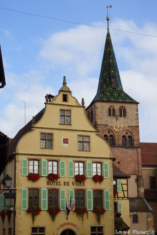 L'Hôtel de Ville, fin 16ème siècle / Town Hall, built at the end of the 16th century, Turckheim