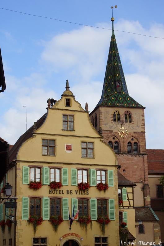 L'Hôtel de Ville, fin 16ème siècle / Town Hall, built at the end of the 16th century, Turckheim