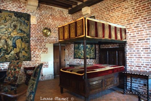 La chambre de Marguerite de Navarre, soeur ainée de François 1er / Marguerite de Navarre's bedroom, was François I 's elder sister