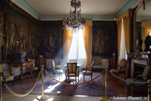 Baignée de lumière, cette pièce aurait servi d'atelier à Léonard de Vinci / Surrouded by light, this room is said to have been used as a studio by Leonardo da Vinci
