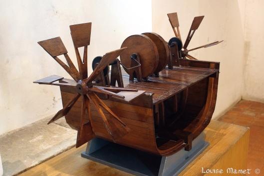 La roue à aubes /  Paddle wheel
