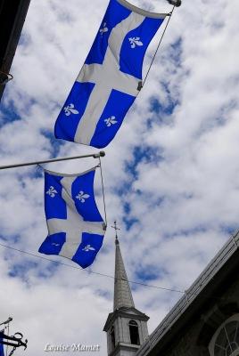 Enseignes drapeaux Quebec